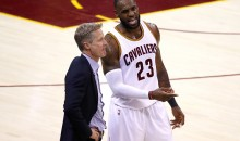 "Steve Kerr Says LeBron & Jordan ""At The Top"" Of List For NBA's G.O.A.T."