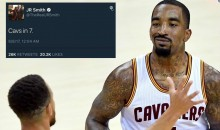 "Internet Reacts to J.R. Smith's ""Cavs in 7″ Tweet (TWEETS)"