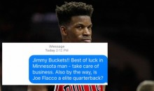Fans Are Now Bombarding Jimmy Butler With Hilarious Text Messages After He Gave Out His Number (TWEETS)
