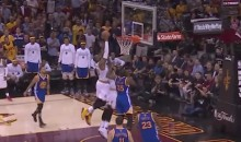LeBron James Goes Off-The-Backboard to Himself For INSANE Dunk (Video)