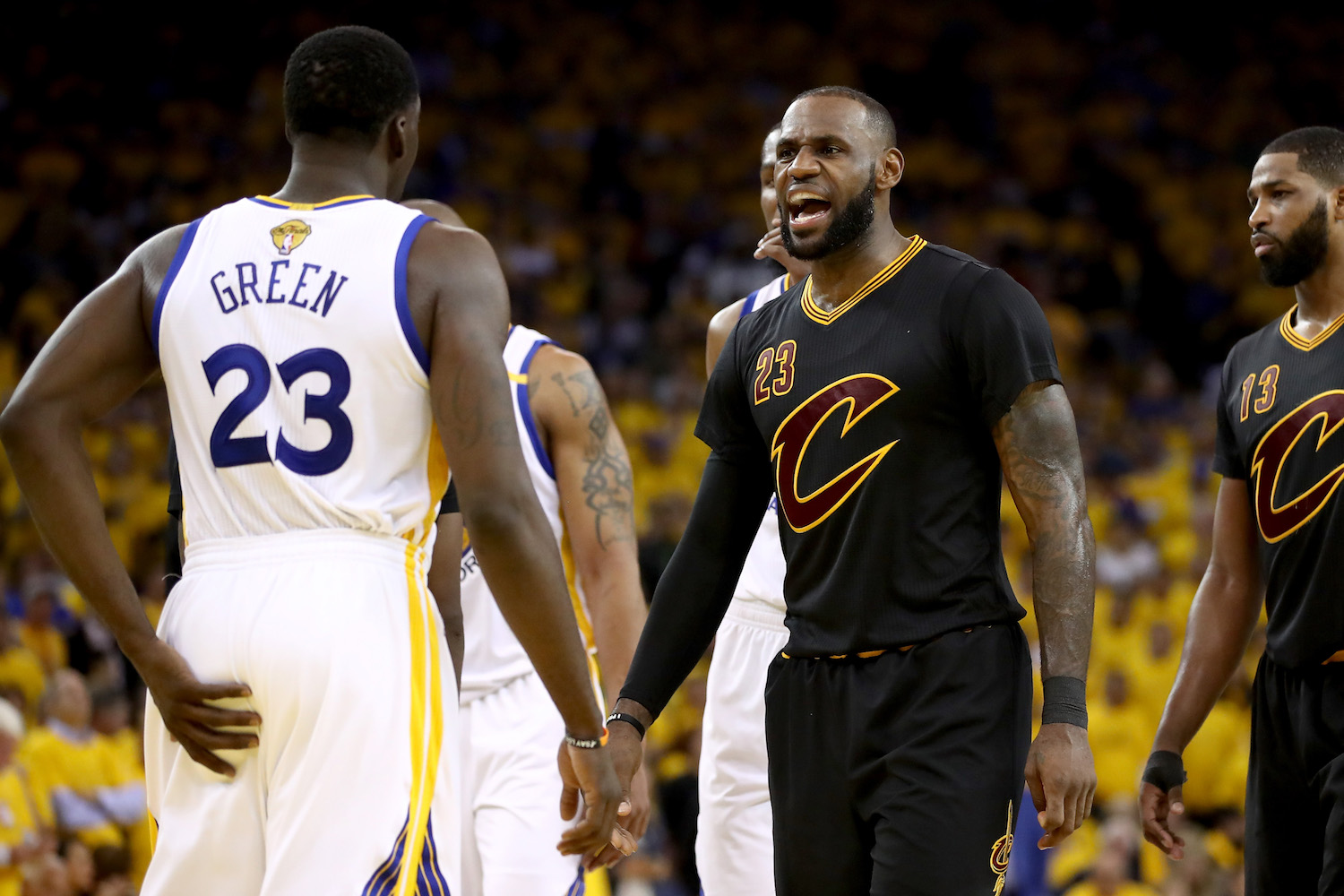 Draymond Green vs. LeBron James: Who will get the last word?