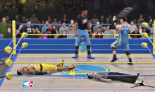 LeBron & Westbrook Team Up To Take Down Kevin Durant in WWE 2K (VIDEO)