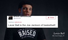Social Media Hilariously Reacts To Lonzo Ball Trolling LaVar on Foot Locker's Father's Day Ad (TWEETS)