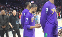 Mahmoud Abdul-Rauf Continues National Anthem Protest In Big3 League