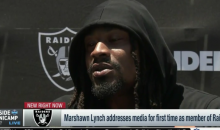 Marshawn Lynch Cursed Up A Storm In First Raiders Interview, Aired Live on NFL Network (VIDEO)