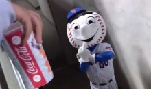 New York Mets Issue Statement Regarding Mr. Met's Middle Finger (Video)