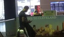 Browns DE Myles Garrett Seen in Walking Boot at Airport (PIC)