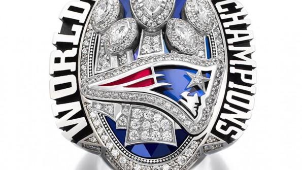 Patriots Super Bowl LI ring