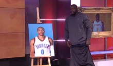 Russell Westbrook Is Your 2017 MVP…of Shaqtin' a Fool (VIDEO)