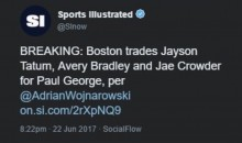 Even 'Sports Illustrated' Was Fooled by the Fake Woj Twitter Account on Draft Day (Tweets)