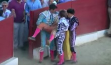Famed Bullfighter Slips On His Own Cape, Gets Gored To Death By Bull (Video)