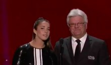 Marcel Dionne Can't Get Enough Of Aly Reisman's Legs (Video)