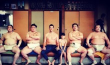 Tom Brady's Kickin' It With Some Sumo Wrestlers In Japan (PICS)