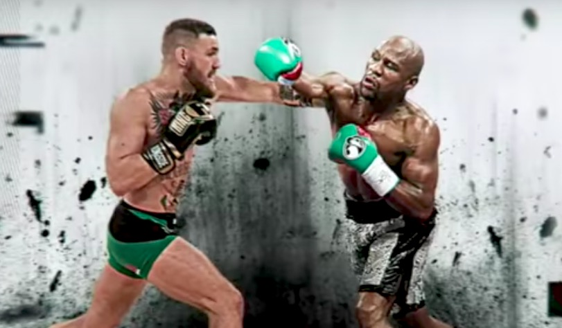 Conor McGregor Shows Off Boxing Style Ahead Of Mayweather Fight