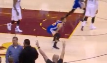 Report: Cavaliers Upset That Steph Curry Celebrated A Big Bucket (VIDEO)