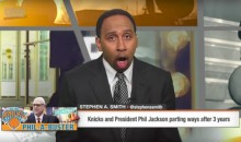 ESPN's Stephen A. Smith Was So Excited Phil Jackson Got Fired, He Came Into Work While on Vacation (VIDEO)