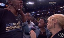 Kevin Durant Shares Emotional Moment With His Mom After NBA Finals Win (Videos)