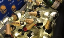 Check Out All The Champagne the Warriors Drank Last Night (PIC + VID)