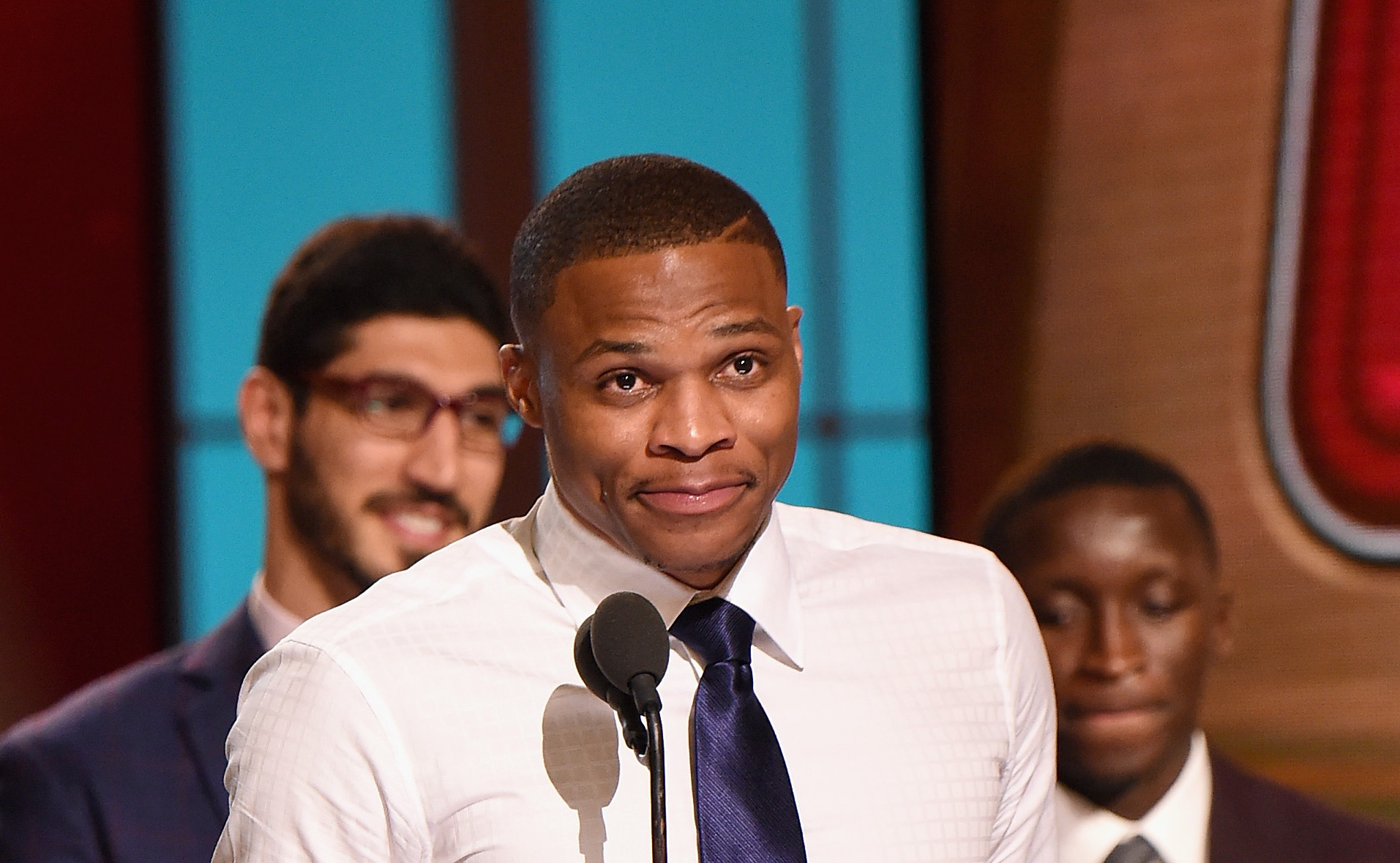 Russell Westbrook wins NBA MVP award