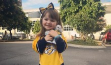 Adorable Predators Fan Gives Her Team Adorable Pep Talk After Stanley Cup Finals Loss (Video)