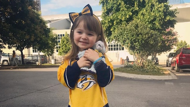 adorable predators fan wrigley