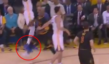 Did J.R. Smith Attempt To Injure Kevin Durant On This Play In Game 2? (VIDEO)