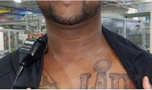 Philadelphia Eagles Fan Ruins 2018 Season By Getting Massive Championship Tattoo (PIC)