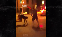 Ex-NHL Player Sean Avery Fights Off Two Guys in Street Fight (VIDEO)