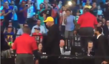 LaVar Ball Gets Booed Out of Barclays Center After He Throws 'Big Baller Brand' Hat Into Crowd (VIDEO)