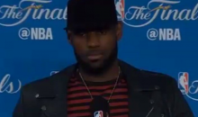 LeBron Says He's Never Been On a Super Team (VIDEO)