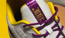 LaVar Ball Drops Lonzo's Lakers-Themed Big Baller Brand Sneakers for $495 (Photo)