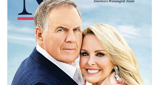Social Media ROASTED Bill Belichick's Romantic Nantucket Magazine Photoshoot (TWEETS)