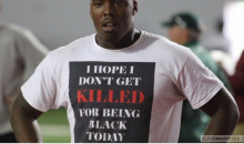 OSU Recruit Tyreke Smith Explains Why He Wore This T-Shirt at Football Camp