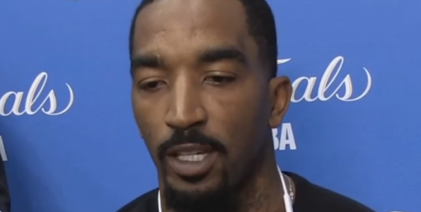 """bee5f1f3bee JR Smith Says Cavs Are Physical But Warriors Have A """"Guy That Keeps ..."""