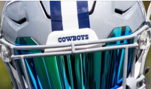 Ezekiel Elliott Debuts New Awesome, Yet Intimidating Helmet & Visor (PIC)