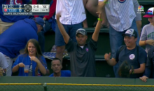 Cubs Fan Throws Back Home Run Ball, Flips Off The Padres Player Who Hit It (VIDEO)