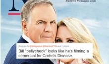 Social Media ROASTED Bill Belichick's Romantic Nantucket Magazine Photoshoot (TWEETS)