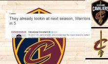 Social Media Reacts To Cavs Unveiling New Logo For Next Season (TWEETS)
