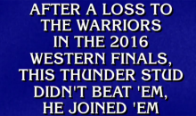 'Jeopardy!' Throws Major Shade At Kevin Durant (VIDEO)