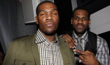 Reports: LeBron & Durant Secretly Made a Rap Song Together; Snippet Released (AUDIO)