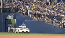 Japanese Closer Rides Onto Field in Sports Car, Like a Boss (Video)