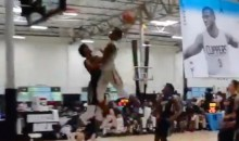 Watch Jay-Z's Nephew Throw Down Epic Dunks Over High School Basketball Superstars (Video)