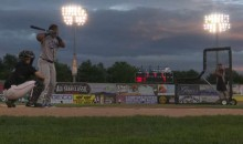 Cubs Minor League Prospect Literally Knocks the Lights Out During Home Run Derby (Video)