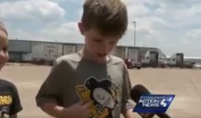 Adorable Young Penguins Fan Cries After Sidney Crosby Signs His T-Shirt (Video)