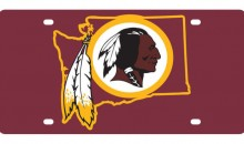 NFL Selling Washington Redskins License Plates With One Very Noticeable Mistake