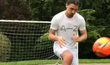 "Ibrahimovic Training ONE MONTH After ACL Surgery, Says ""Lions Don't Recover Like Humans"" (Video)"