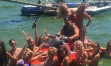 Packers OL Hilariously Thanks Aaron Rodgers for Jet Ski While Surrounded By Beautiful Women (PIC)