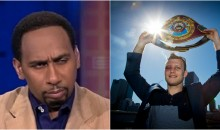 Jeff Horn Planning to Confront Stephen A. Smith at ESPYS For The Things He Said