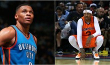 Allen Iverson on Russell Westbrook: 'He's My Favorite Player In The League'