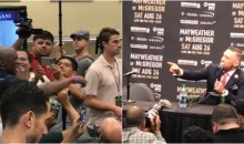 McGregor To Mayweather Sr: 'Your Boy Is Going To Sleep & He'll Wake Up A Better Man' (VIDEO)